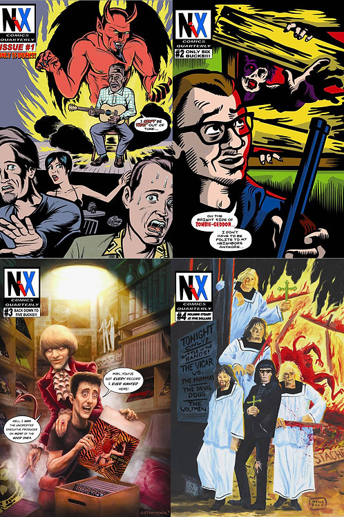 Value Bundle: First 4 Issues of Nix Comics Quarterly