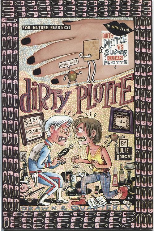 Julie Doucet's Dirty Plotte #4