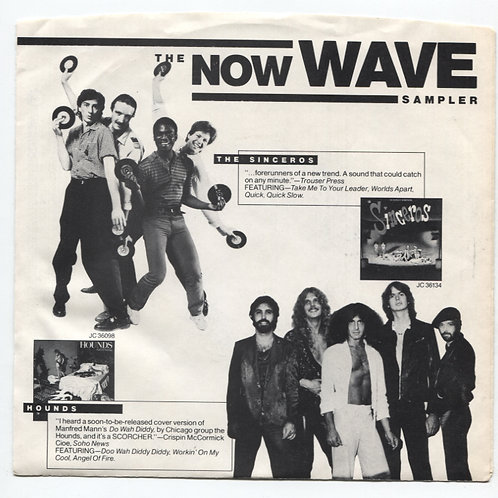 "Now Wave sampler 7"" Promo EP"