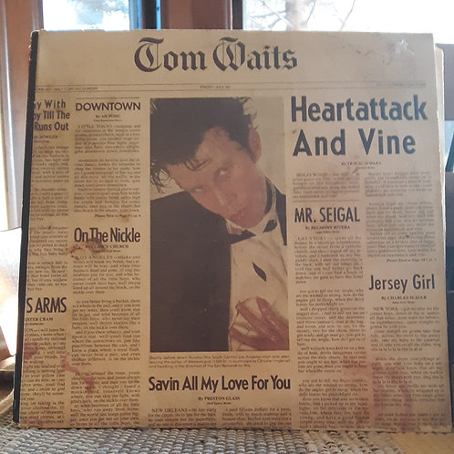 Tom Waits: Heartattack and Vine LP
