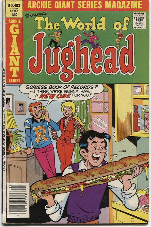 Archie Giant series: World of Jughead #493