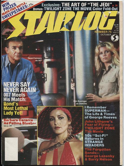 Starlog Magazine #75