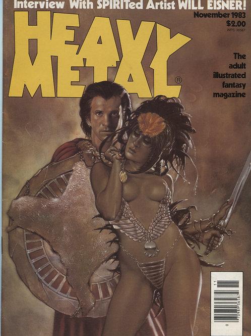 Heavy Metal November '83