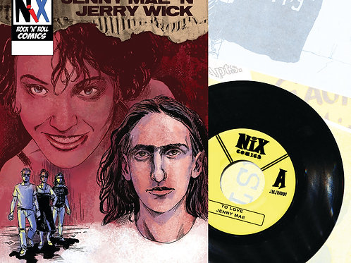 Jenny Mae & Jerry (Deluxe Comic and Record Set)