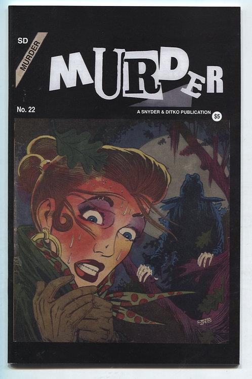 Murder #22 by Steve Ditko