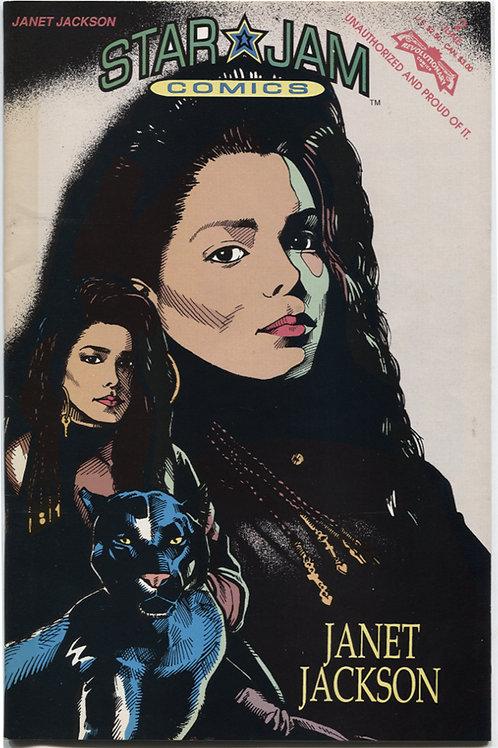 Star Jam Comics #2: Janet Jackson