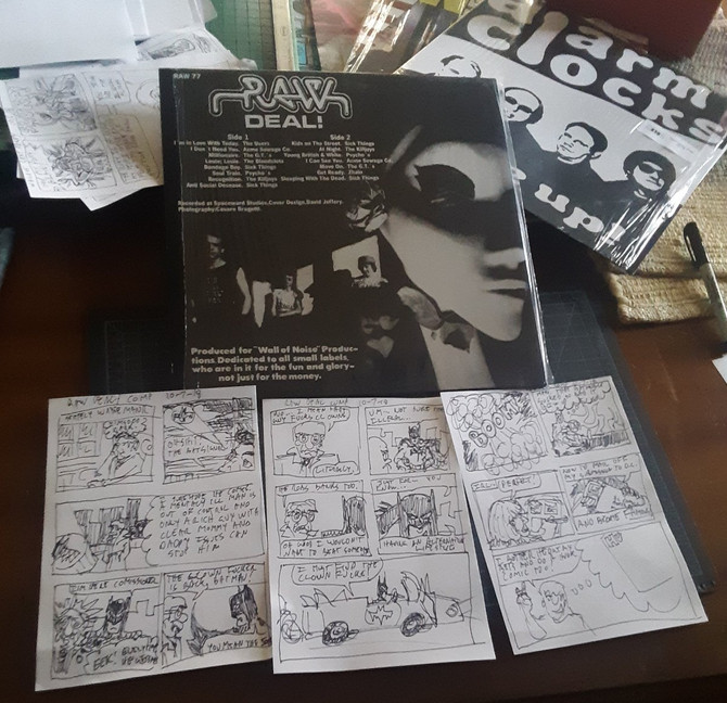Record Comic #3: Raw Deal