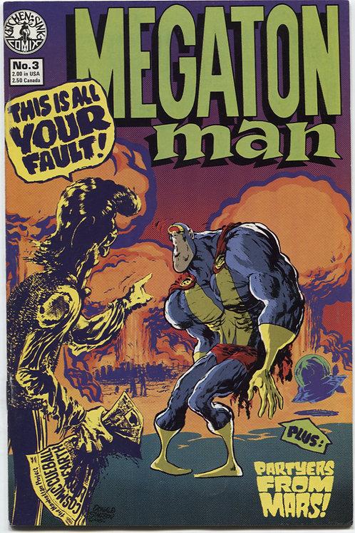 Megaton Man #3