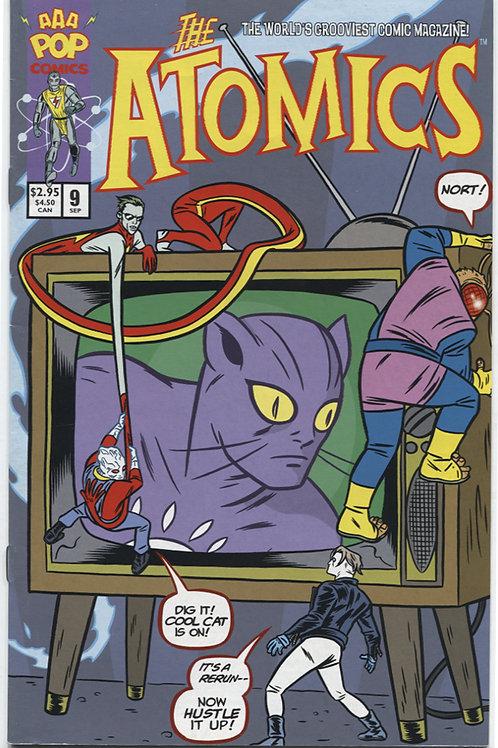 Michael Allred's The Atomics #9