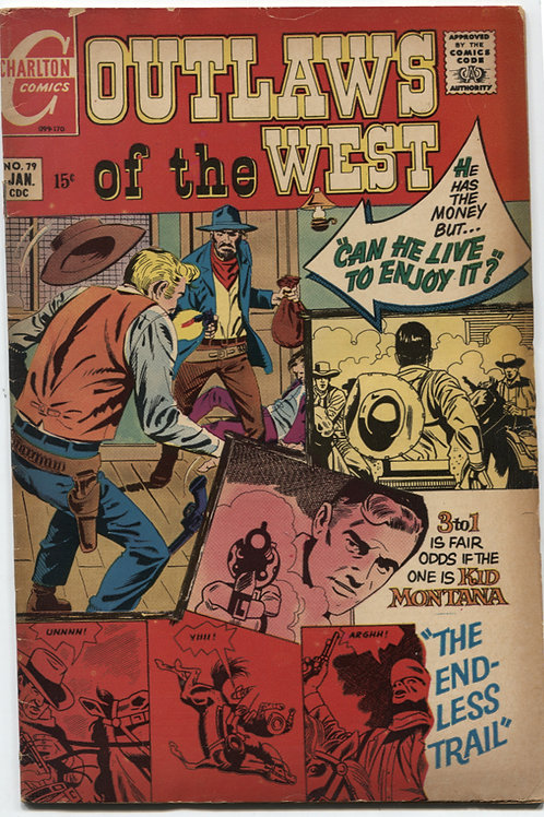 Outlaws of the West #79
