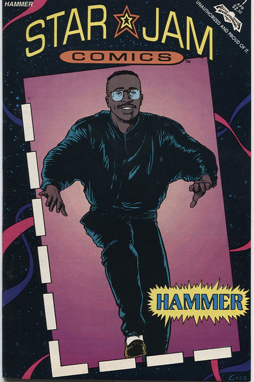 Star Jam Comics #1: MC Hammer