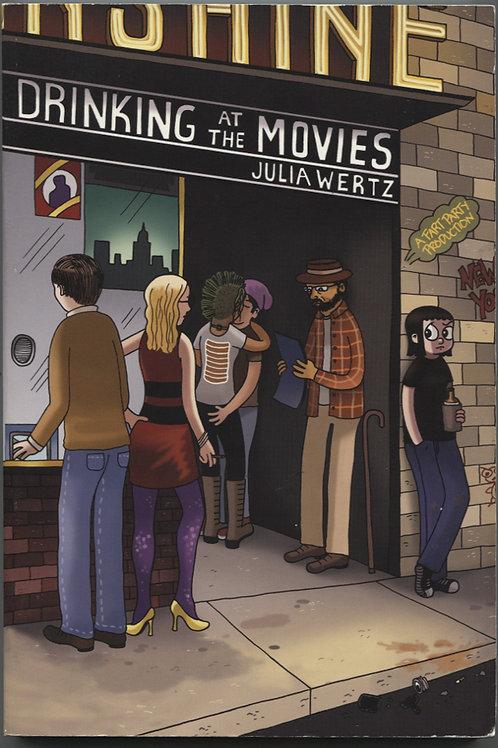 Julia Wertz's Drinking At the Movies