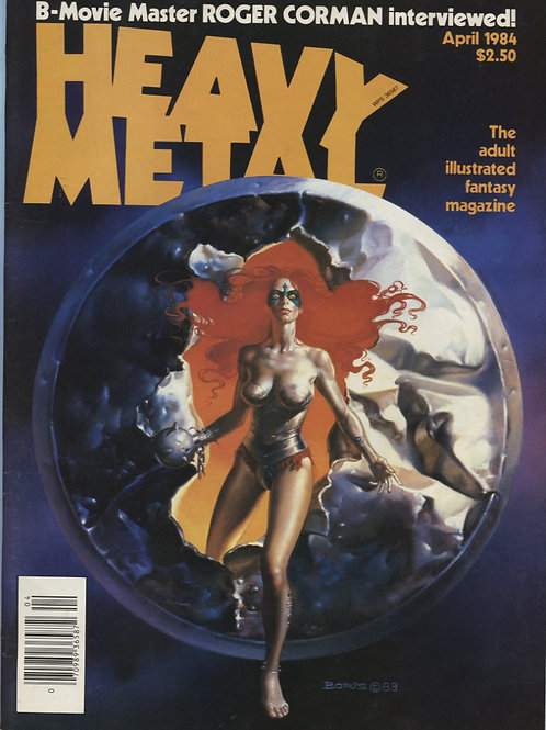 Heavy Metal April '84