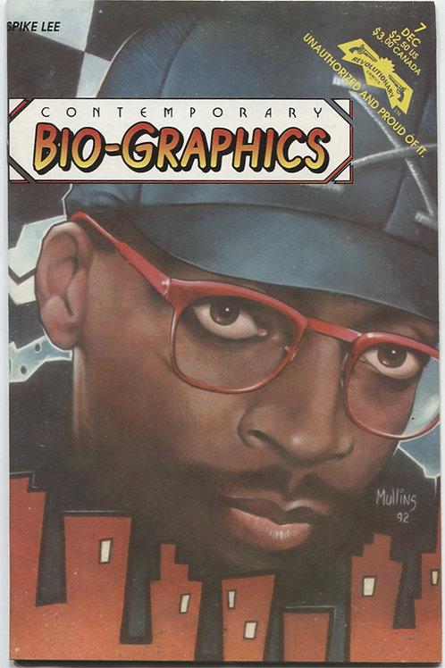 Contemporary Bio-Graphics #7: Spike Lee