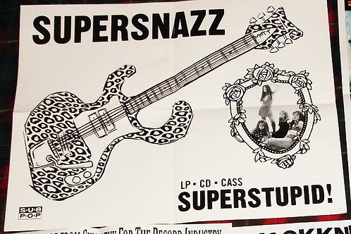Supersnazz Superstupid! Promo Poster