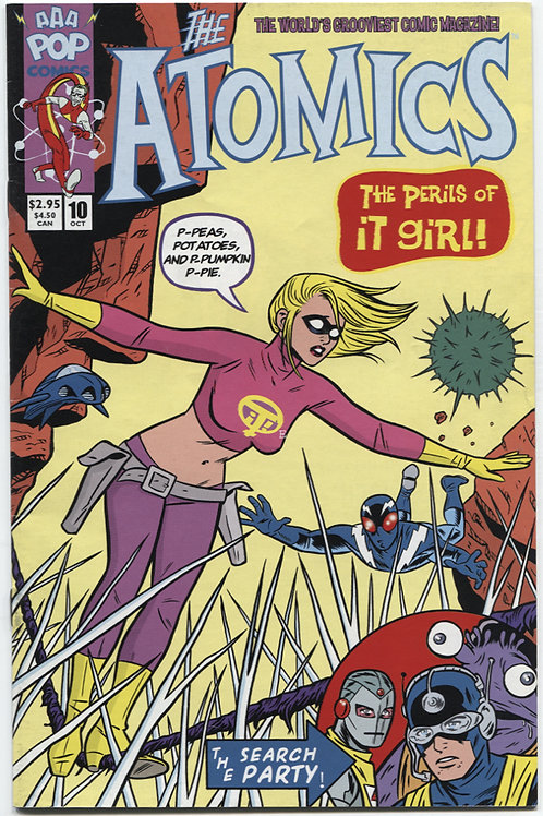 Michael Allred's The Atomics #10