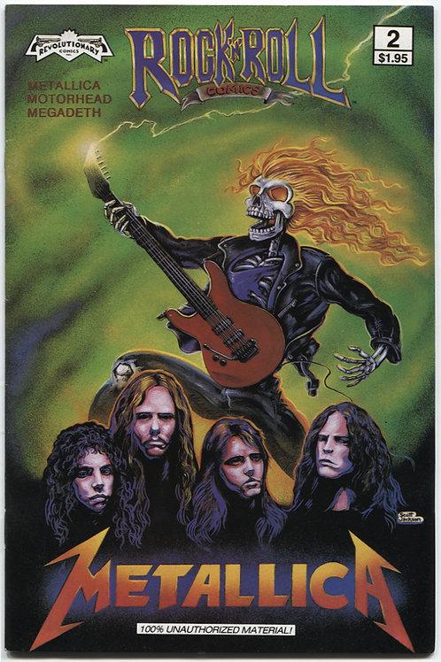 Rock 'N Roll Comics #2: Metallica, Motorhead & Megadeath