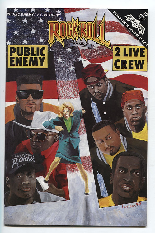 Rock 'n' Roll Comics #19 Public Enemy 2 Live Crew