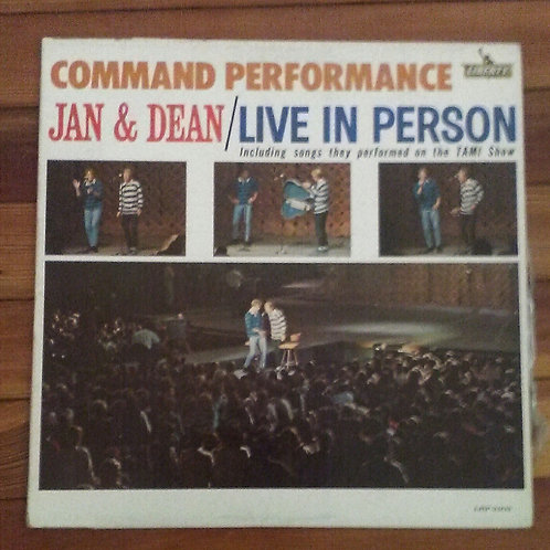 Jan & Dean: Command Performance LP