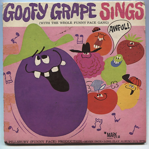 "Goofy Grape sings 7"" EP"