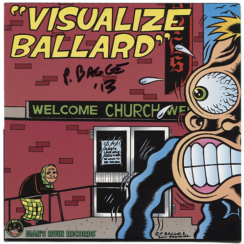 Action Suits: Cancer Father/Visualize Ballard Signed