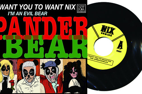 Collected Pander Bear (Deluxe Comic and Record Set)
