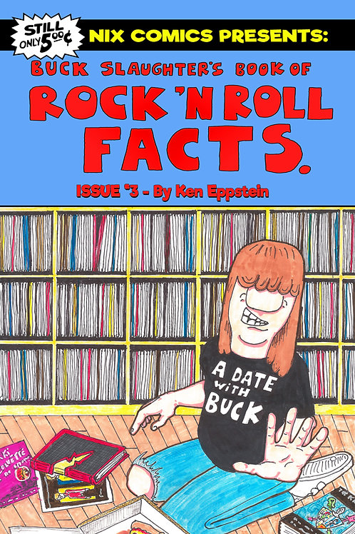 Buck Slaughter's Book of Rock N Roll Facts #3