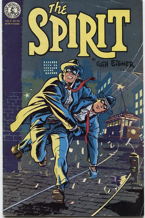 Will Eisner's The Spirit #4