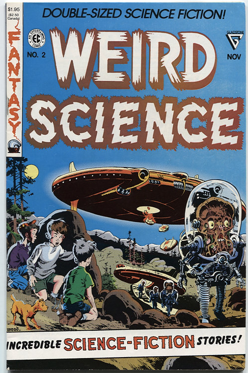 Weird Science #2 Double Size
