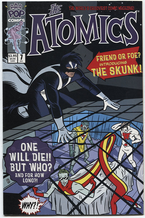 Michael Allred's The Atomics #7