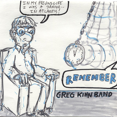 Greg Kihn Band: Remember Record with Original Art