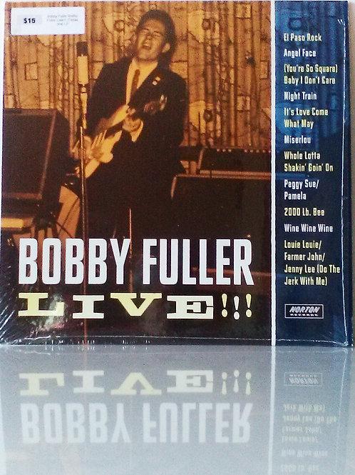 Bobby Fuller: Live!