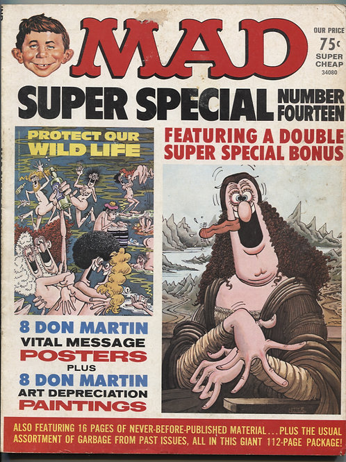 Mad Magazine Super Special #14