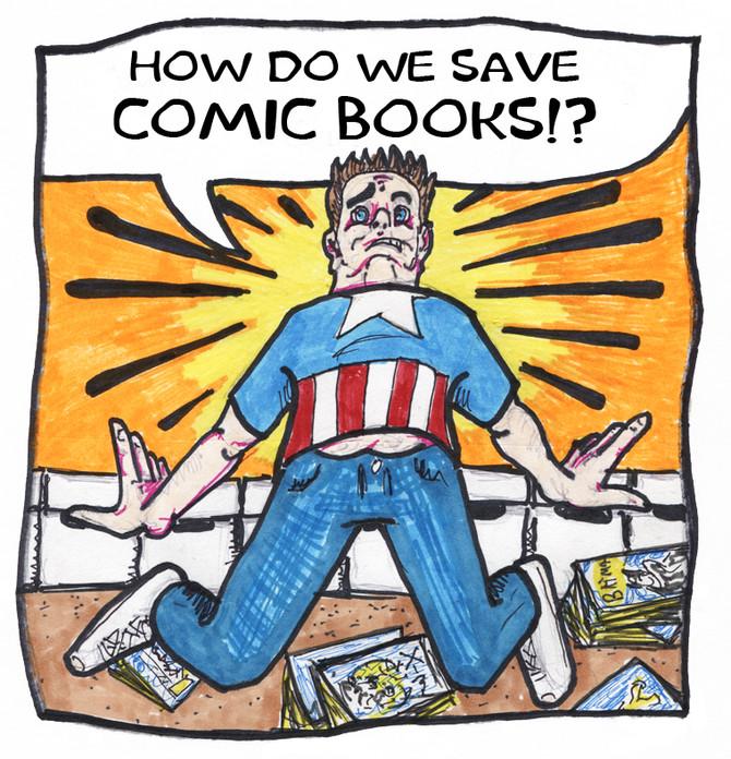 How Do We Save Comic Books?