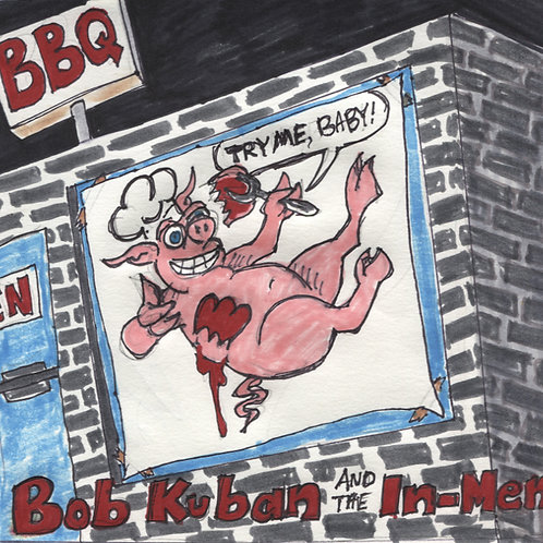 Bob Kuban & the In-Men: Try Me Baby Record with Original Art