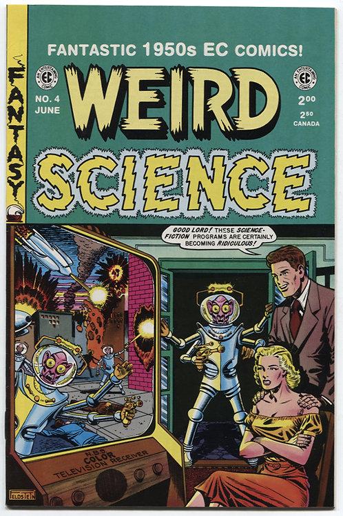 Weird Science #4 Cochran Reprint