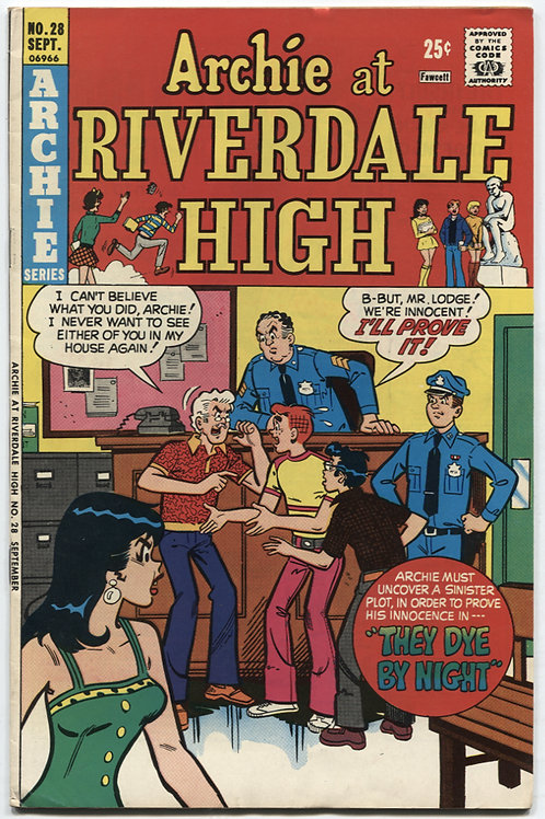 Archie At Riverdale High #28