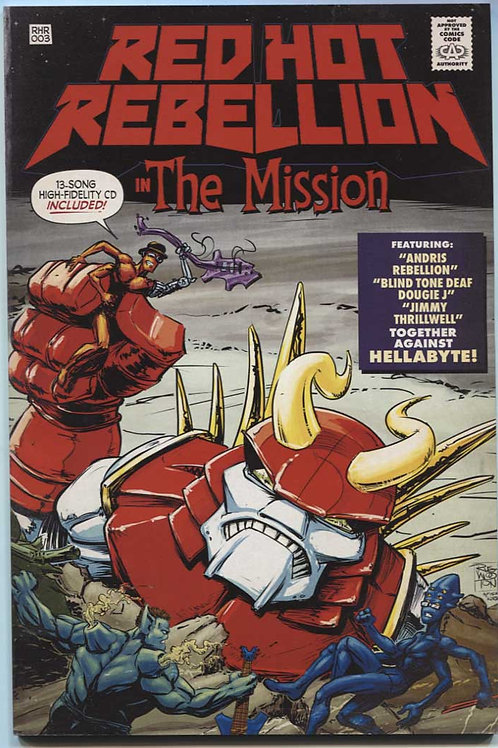 Red Hot Rebellion: The Mission Comic & CD