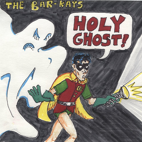 "The Bar-Kays: Holy Ghost 7"" Record with Original Art"