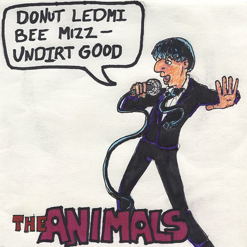 "The Animals: Please Don't Let... 7"" Record with Original Art"