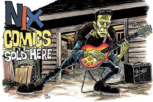 Nix Comics Sold Here Poster