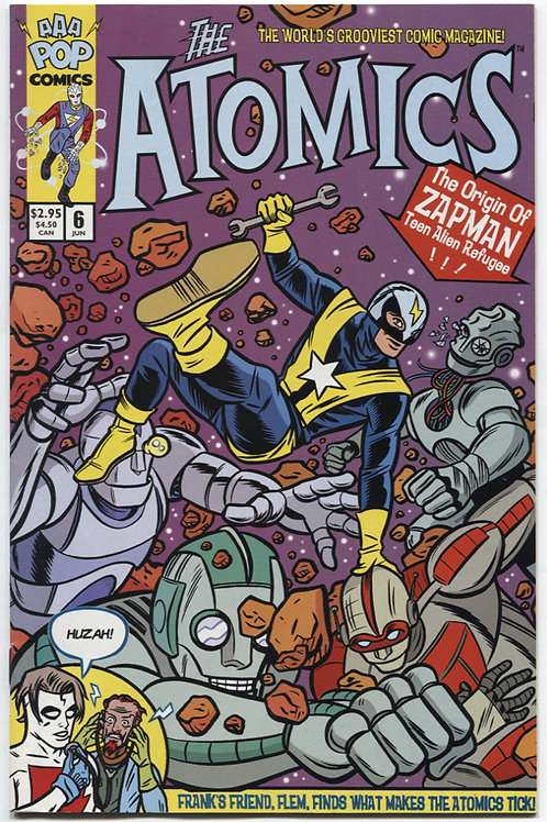 Michael Allred's The Atomics #6