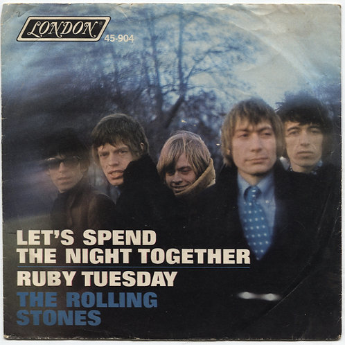 Rolling Stones: Let's Spend The Night Together 7""