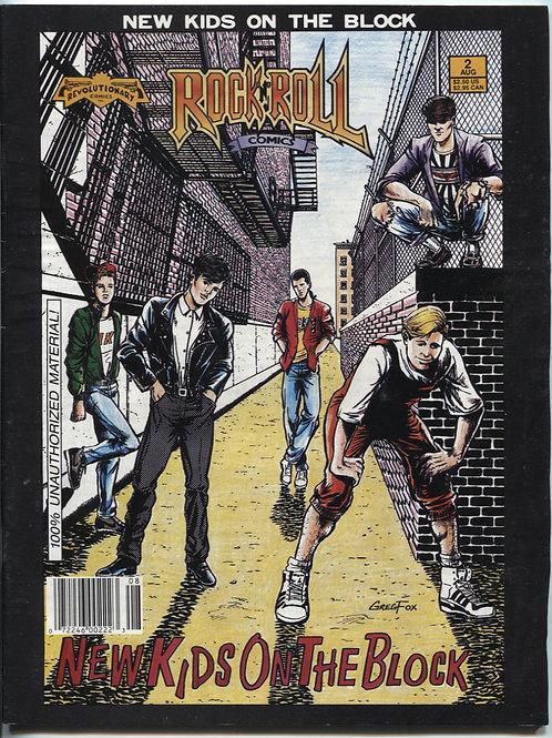 Rock N Roll Comics #2: New Kids On The Block