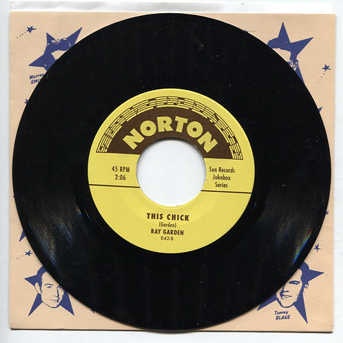 Sun records Jukebox Series: Dick Penner/Ray Garden split 7""