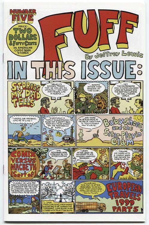 Jeffrey Lewis's Fuff #5