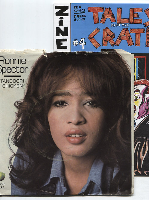 """Tales From the Crate #4 with Ronnie Spector 7"""""""