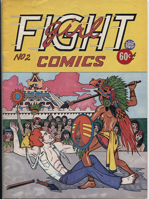 Trina Robbins Girl Fight Comics #2