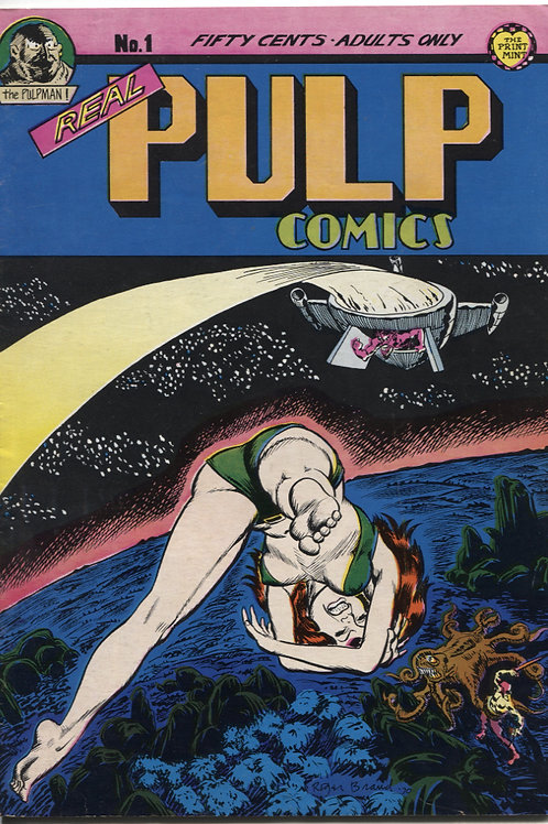 Real Pulp Comics #1