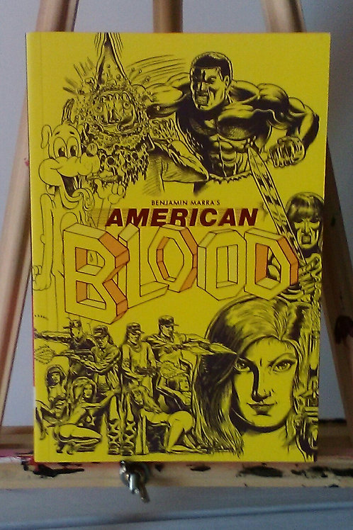 Ben Marra's American Blood TPB